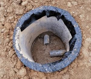 Сооружение для углового соединения канализации