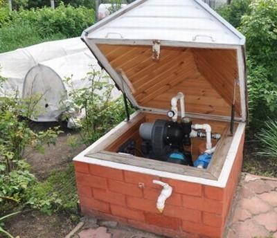Теплый короб для скважины