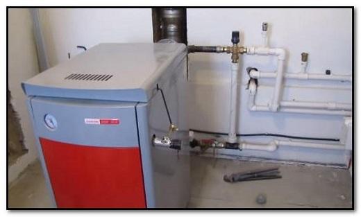 Водяное отопление (котел)