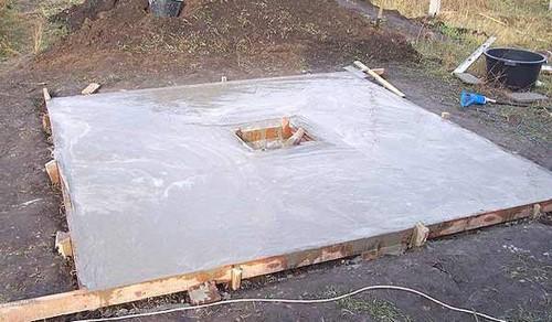 Бетонная крыша