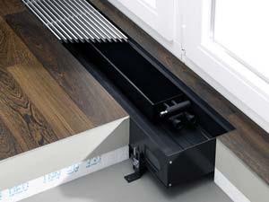 Прибор отопления в полу